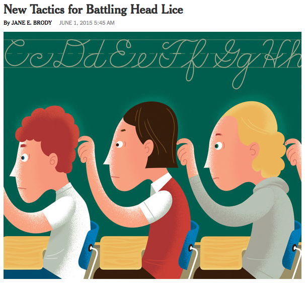New Tactics for Battling Head Lice