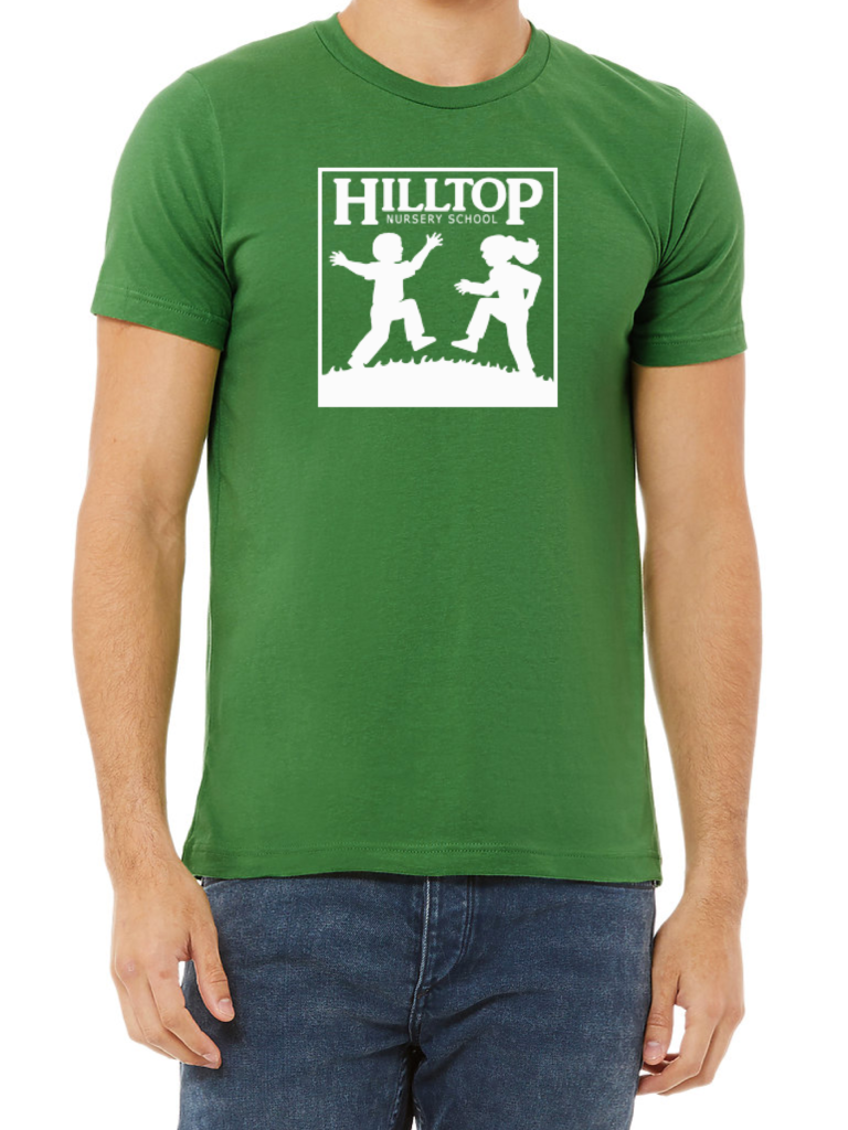 Hilltop youth t-shirt in white