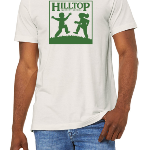 Hilltop t-shirt in vintage white