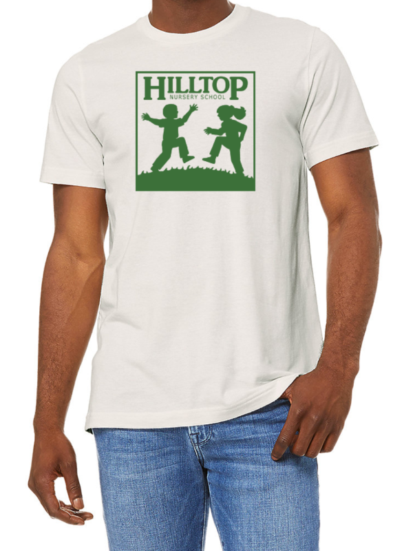 Hilltop t-shirt in vintage white