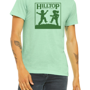 Hilltop t-shirt in mint