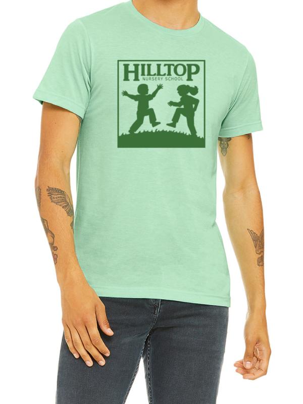 Hilltop t-shirt in mint