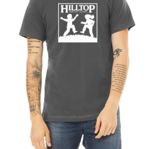 Hilltop t-shirt in asphalt
