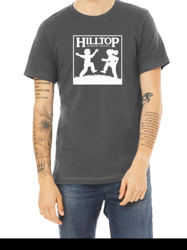 Hilltop t-shirt in asphalt
