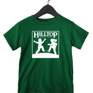Hilltop youth shirt in kelly green